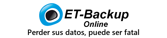 ET-Backup, copias de seguridad online