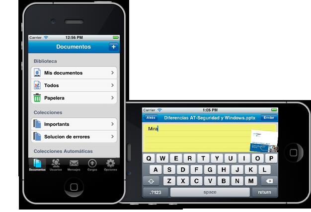 Aplicaciones nativas para sistemas operativos Android e iOS