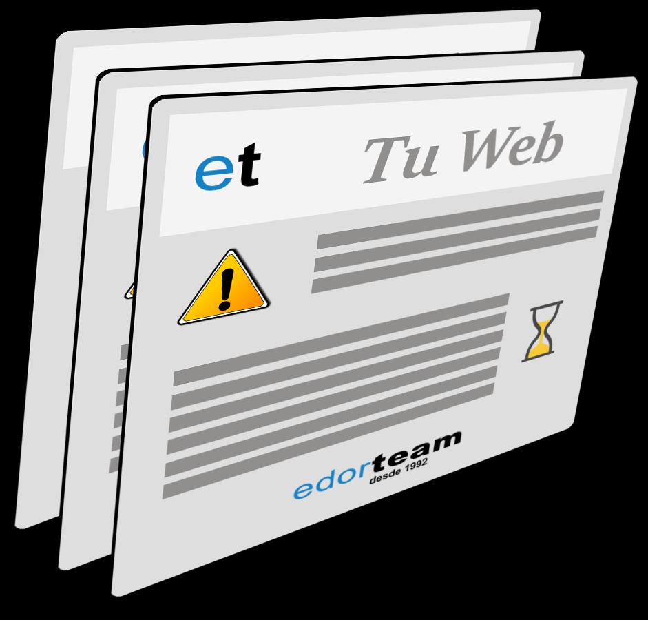 web empresarial adaptada a las necesidades específicas de cada empresa. Redes sociales, planificación web